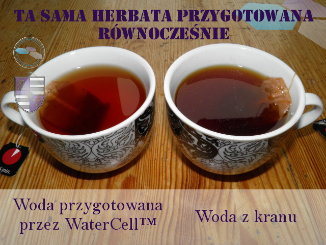 Herbata z filtra do wody RO WaterCell